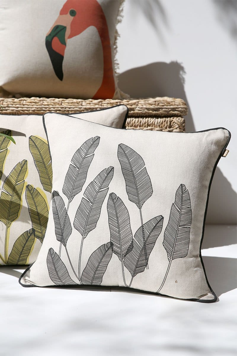 Leaf Pillow Cover