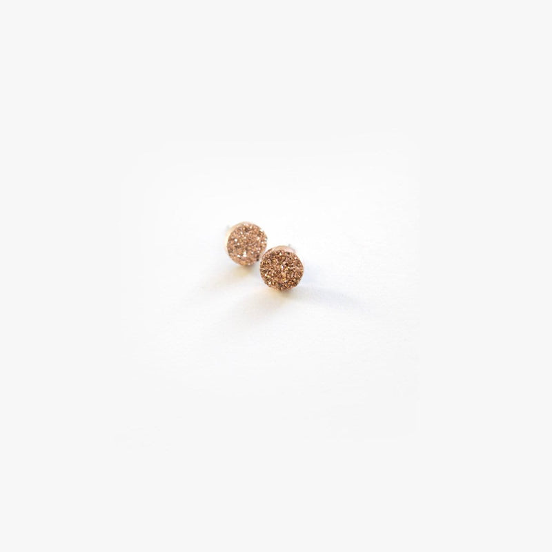Mini Rose Gold Druzy