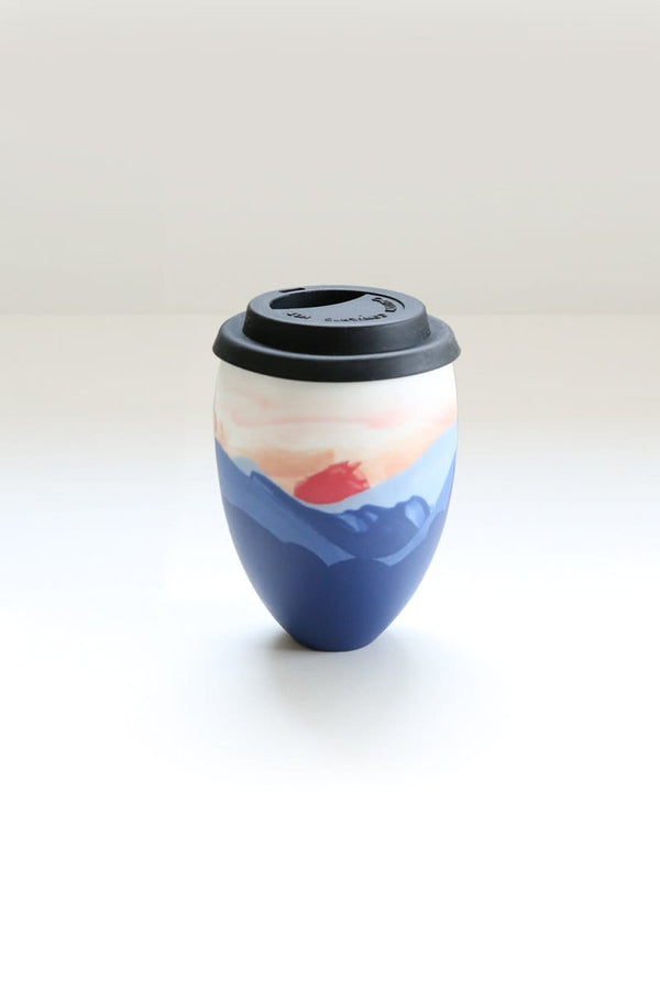Painted To-Go Mug