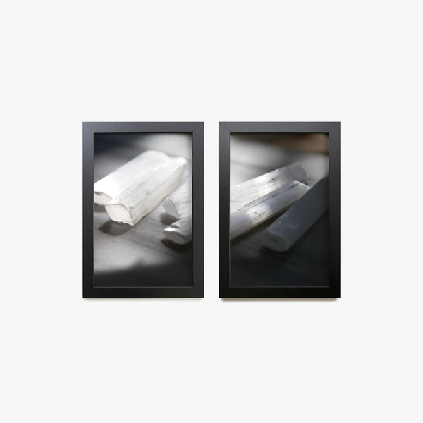 Selenite Print, Set of 2