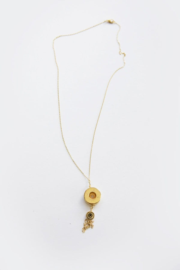 Bullet Tassel Necklace