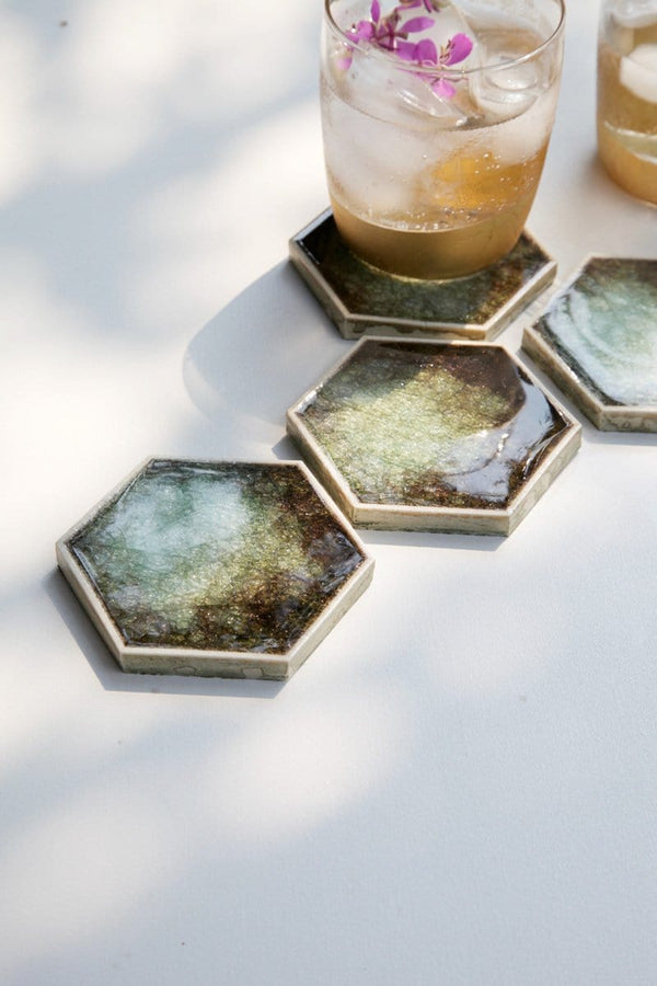 Tulum coaster set