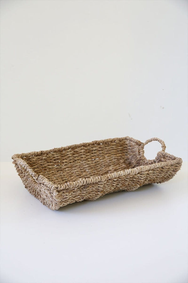 Handwoven Wicker Tray