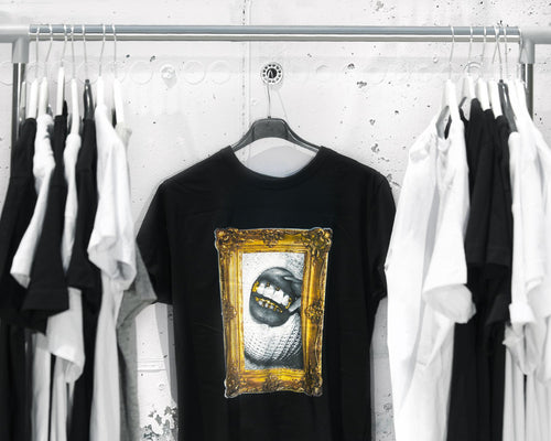 Frame grillz T-shirt black