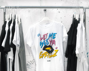 Let Me See Ya Grillz T-shirt white