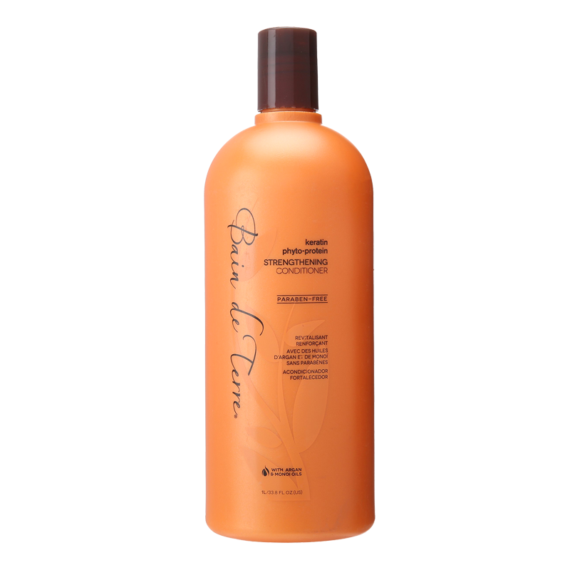 Bain de Terre Keratin Phyto-Protein Sulfate-Free Strengthening Conditioner