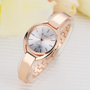 Luxury Bracelet Watch - Rose Gold