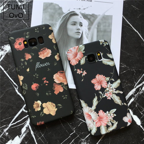 Lovely Galaxy Flower Case - (Suitable for Samsung Galaxy S7 S S8 Plus Note8 )