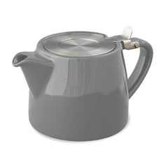 Stump Teapot - White