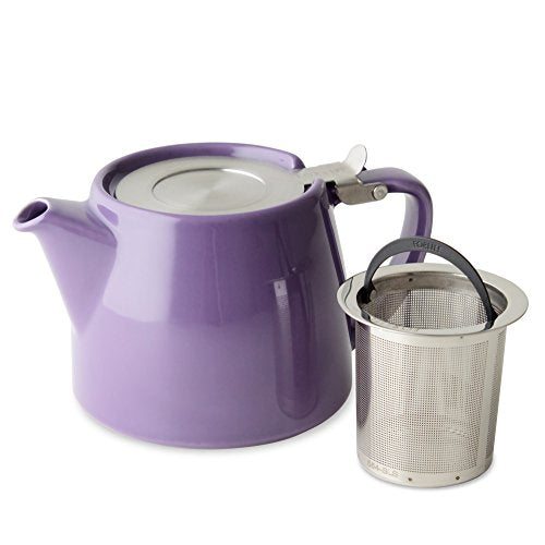 Stump Teapot - Purple