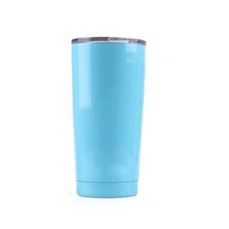 Light Blue Tea Tumbler
