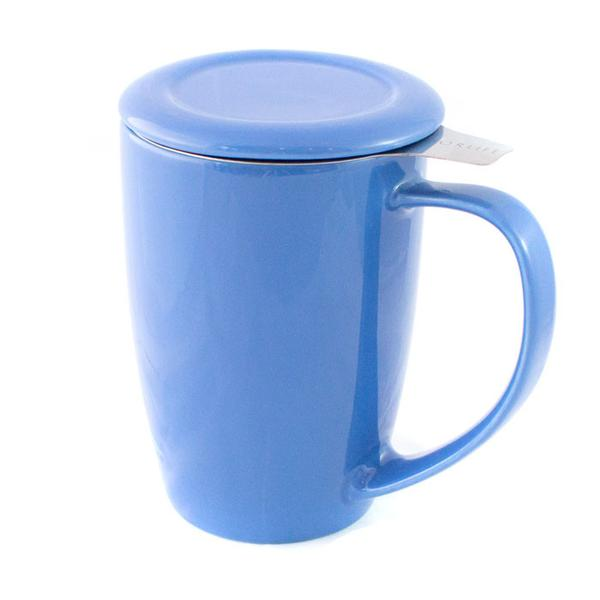 Tea Mug With Infuser - Blue