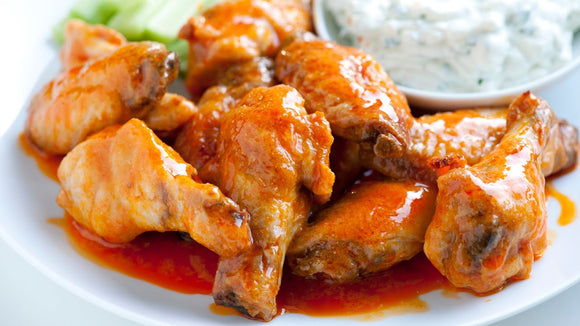 Hot and Spicy Chicken Wings - 1kg