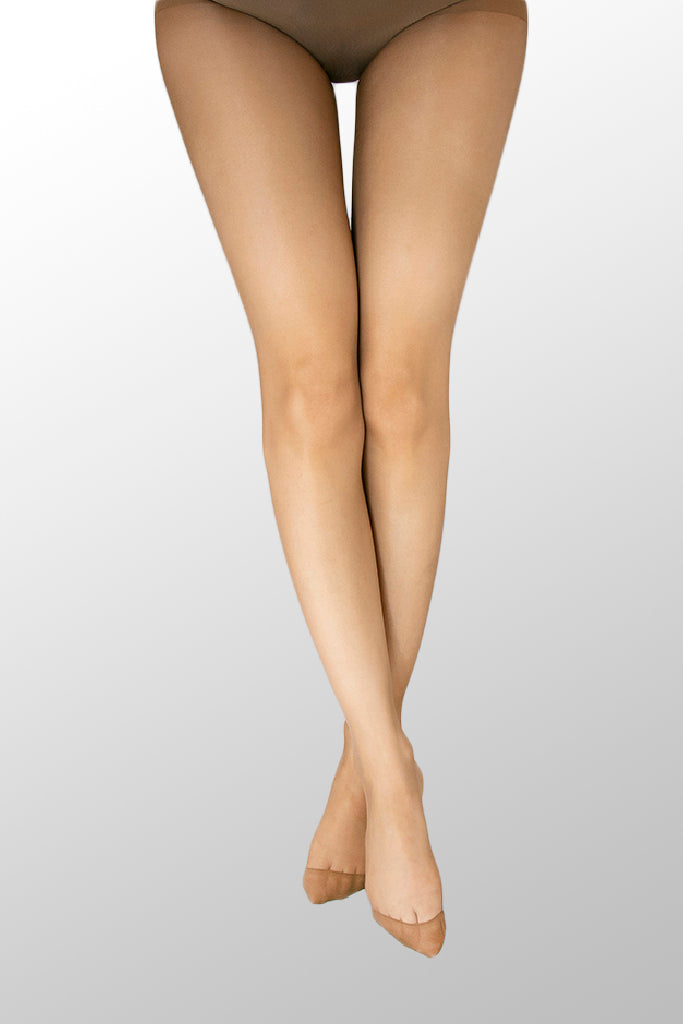 Collants voile 15 Den C/gousset Biq. Invisivel