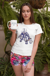 Tea Monster Unisex Artistic T-Shirt