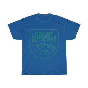 Great Outdoors Unisex Heavy Cotton Tee - desseni