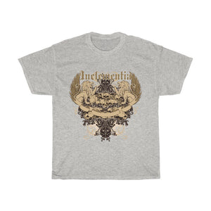 Lions And Skulls Inclementia Unisex Heavy Cotton Tee - desseni