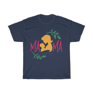Mama Knows Best Unisex Heavy Cotton Tee - desseni