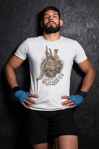 Bulls Eye Skull T-Shirt– Shop for Bulls Eye Skull Unisex T-Shirts Online – Desseni
