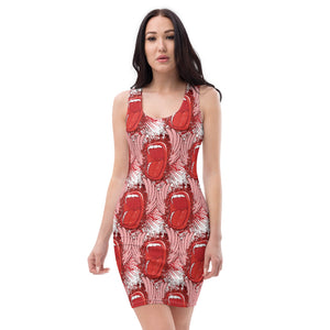 Screaming Mouth Women's Sublimation Cut & Sew Dress - desseni