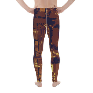 City Lights Men's Leggings - desseni