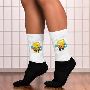 Ride Women's Socks - desseni