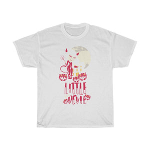 Little Miss Devil Unisex Heavy Cotton Tee - desseni