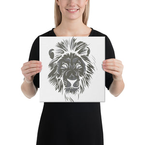 Black Lion Canvas - desseni