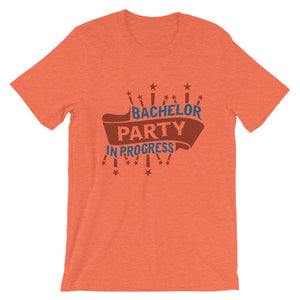 Bachelor Party In Progress Unisex T-Shirt - desseni