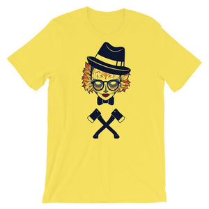 Little Rosemary With Axe Artistic Unisex T-Shirt - desseni