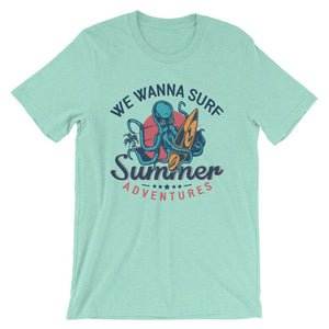Summer Adventures Unisex T-Shirt - desseni