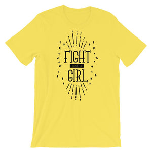 Fight Like A Girl T-Shirt– Shop for Fight Like A Girl Unisex T-Shirts Online – Desseni
