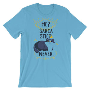 Me Sarcastic Never T-Shirt– Shop for Me Sarcastic Never Unisex T-Shirts Online – Desseni