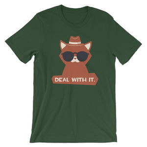 Deal With It Unisex T-Shirt - desseni