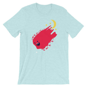 Fish Coming from Space Unisex T-Shirt - desseni