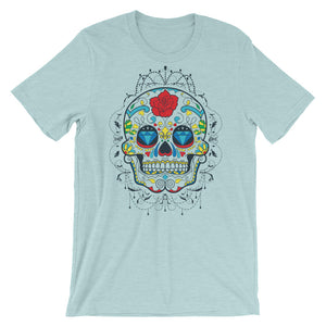 Diamond Sugar Skull T-Shirt– Shop for Diamond Sugar Skull Unisex T-Shirts Online – Desseni