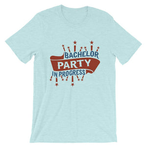 Bachelor Party In Progress T-Shirt– Shop for Bachelor Party In Progress Unisex T-Shirts Online – Desseni