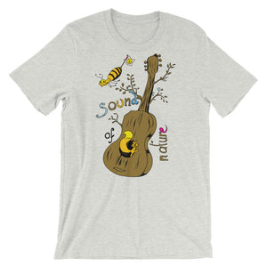 Sound Nature Unisex T-Shirt - desseni