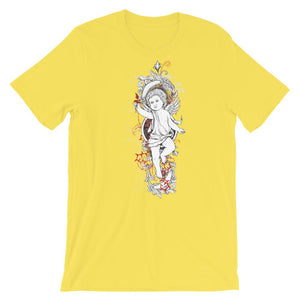 Engraved Angel T-Shirt– Shop for Engraved Angel Unisex T-Shirts Online – Desseni