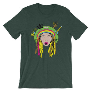 Peace Head T-Shirt– Shop for Peace Head Unisex T-Shirts Online – Desseni