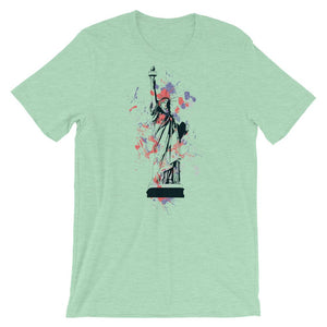Statue of Liberty T-Shirt– Shop for Statue of Liberty Unisex T-Shirts Online – Desseni