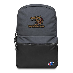 Wolverines Embroidered Champion Backpack - desseni