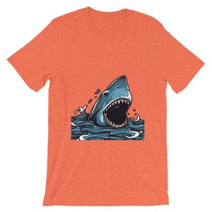 Great Shark T-Shirt– Shop for Great Shark Unisex T-Shirts Online – Desseni
