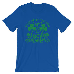Let Me Show You My Lucky Charm T-Shirt– Shop for Let Me Show You My Lucky Charm Unisex T-Shirts Online – Desseni