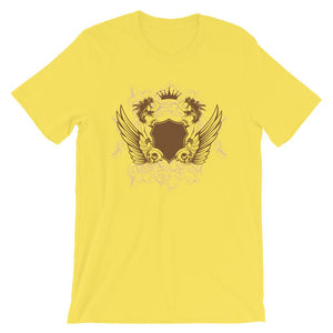 Womens And Skulls Yellow T-Shirt– Shop for Womens And Skulls Unisex T-Shirts Online – Desseni