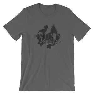 Autumn Blessings Unisex T-Shirt - desseni