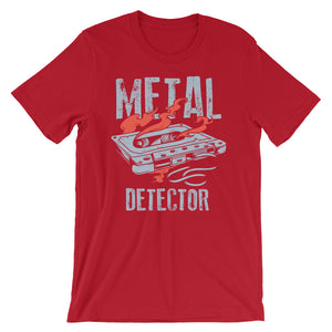 Metal Detector T-Shirt– Shop for Metal Detector Unisex T-Shirts Online – Desseni