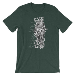 Ghost Of Cat Unisex T-Shirt - desseni