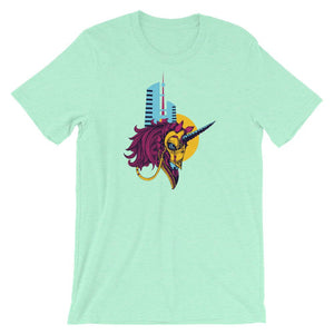 Unicorn and Towers T-Shirt– Shop for Unicorn and Towers Unisex T-Shirts Online – Desseni