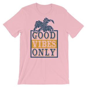 Good Vibes Only T-Shirt– Shop for Good Vibes Only Unisex T-Shirts Online – Desseni